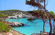 Click on this image if you want to know more about the beaches in Minorca